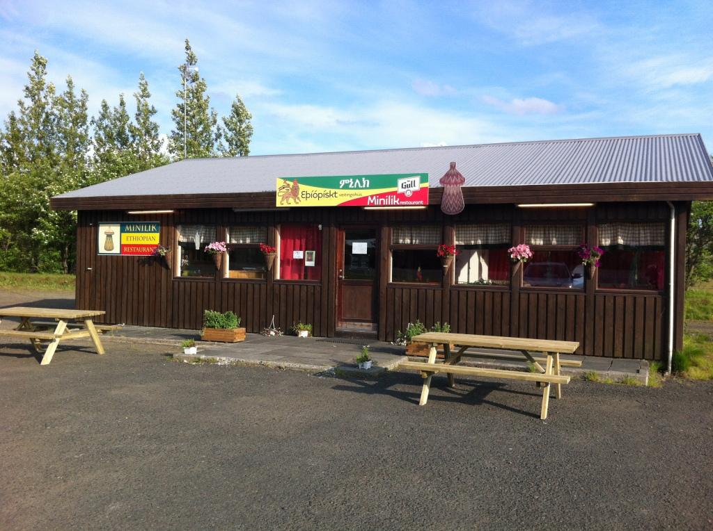 Minilik Ethiopian Restaurant in Flúðir