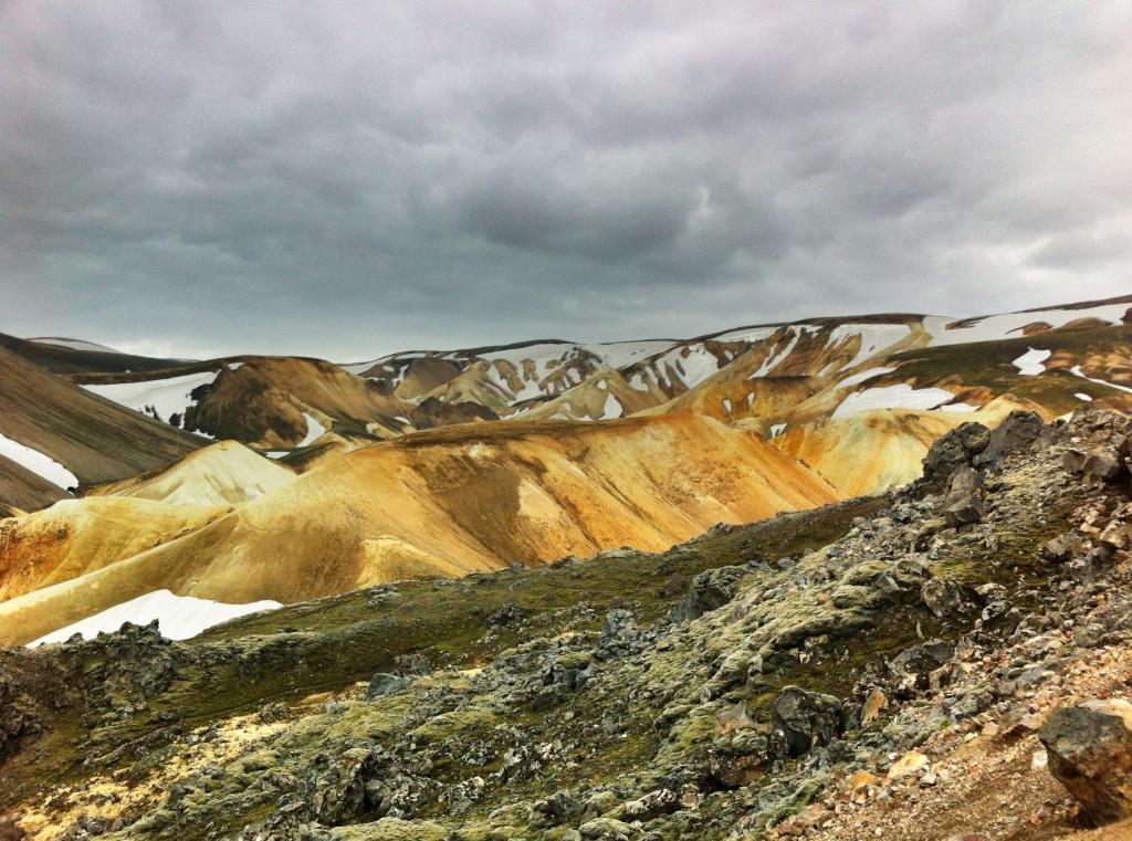 Rhyolite hills near Landmannalaugar